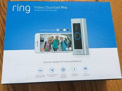 Ring Video Doorbell Pro - Wi-Fi Enabled, Motion Detection, Two-way Talk 1080P HD