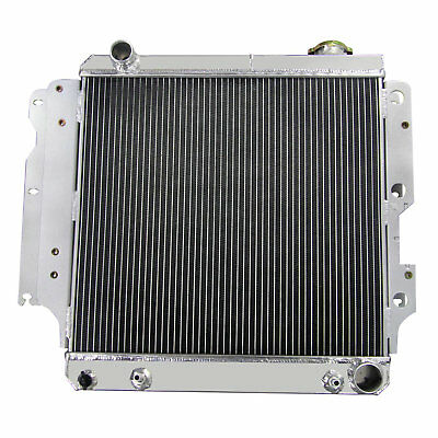 3Row Core Alloy Radiator Fit Jeep Wrangler TJ YJ GM w/Chevy V8 Conversion 87-06