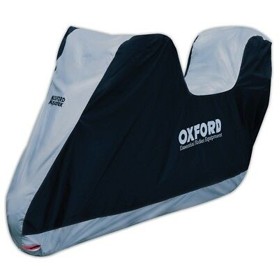 Oxford Aquatex Outdoor Waterproof Motorcycle Dust Cover Extra Large With Top Box