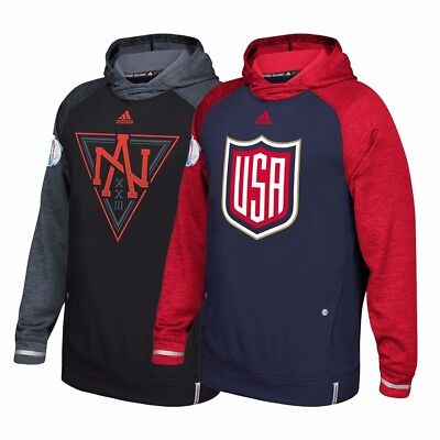 NHL Adidas 2016 World Cup of Hockey ClimaWarm Player Pullover Hoodie Men's