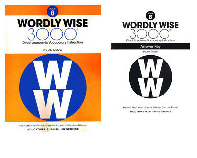 Wordly wise 3000 grade 4 set student and key new 3rd edition wordly wise 3000 4th edition grade 8 set student book and answer key fandeluxe Image collections