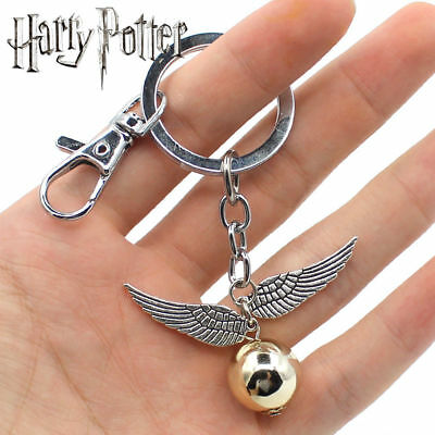 Harry Potter Golden Snitch Keychain Keyring Pendants Cosplay