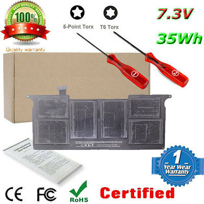 """Battery For Apple Macbook Air 11"""" A1465(Mid-2013) MD711 MD712LL/A Replace A1495"""