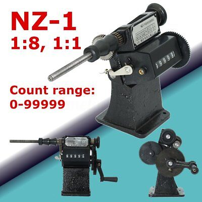 Black Manual Hand Dualpurpose Coil Counting Winding Electric Winder Machine NZ-1