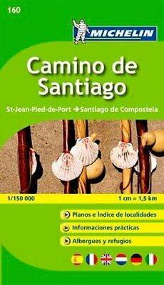 Camino de Santiago - Zoom Map 160: Map (Michelin Zoom Maps) by Michelin Book The