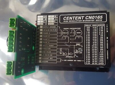 Centent Cn0165 High Resolution Microstep Drive W/ Genrad Inc 9004-0563-01 B