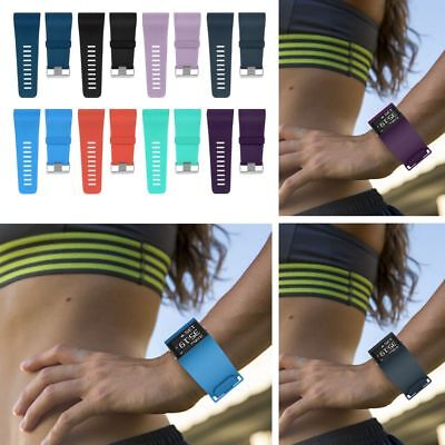Replacement Silicone Rubber Wristband Watch Band Strap For Fitbit Surge L/S UK