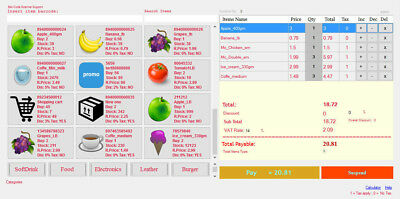 International Point of Sale System   Professional Edition Retail POS Software