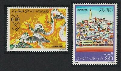 Algeria M'Zab Valley 2v SG#885-886