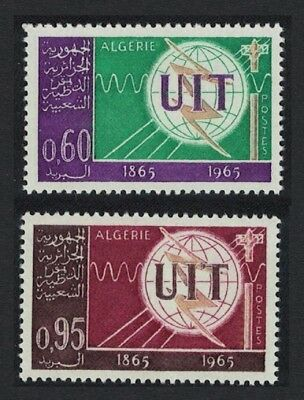 Algeria Centenary of ITU 2v SG#446-447