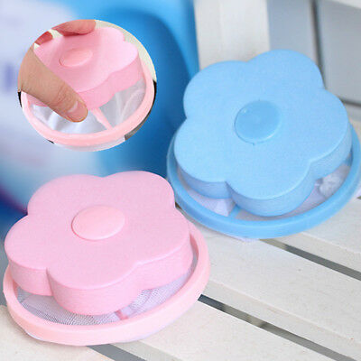 Laundry Ball Filter Bag Filtration Hair Flower-shaped Floating Cleaning Tools