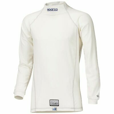 Sparco Guard RW-3 Long Sleeve FIA Approved Rally Race Racing Top In White