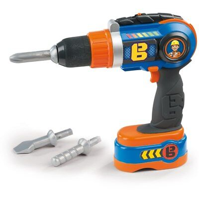 Bob the Builder Mechanical Drill, Fun Kids TV Character Toy NEW OTHER
