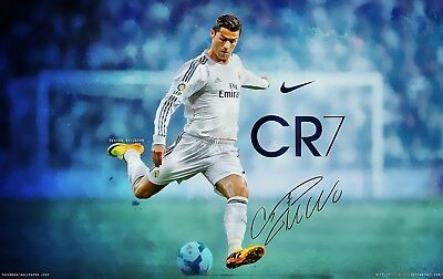 Cristiano Ronaldo  Poster - Wall Art - 4 sizes to choose from!