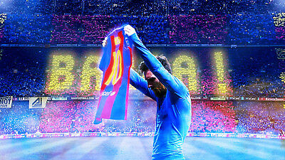 Lionel Messi  Poster - Wall Art - 4 sizes to choose from!