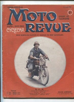 Moto Revue N°125 : 1er juin 1923 : le cyclecar B.N.C ,le Bol d'Or ,Indian