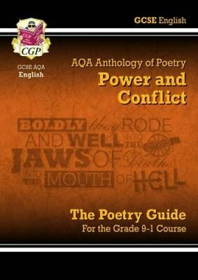 New GCSE English Literature AQA Poetry Guide: Power & Conflict ... 9781782943617