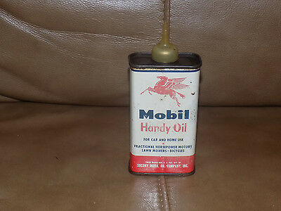 Mobil Pegasus Handy Oil 4 Fluid Ounces Oil Can