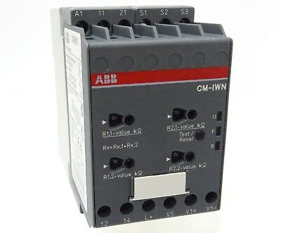 ABB CM-IWN.1 Isolationsüberwachungsrelais Insulation Monitoring Relay 1-200kOhm