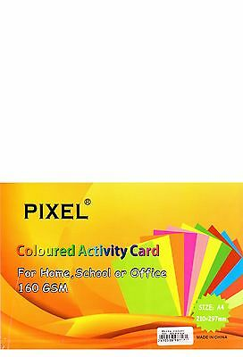 A4 White Card for Home, School, Office or Arts & Crafts (160GSM - 50 Sheets)