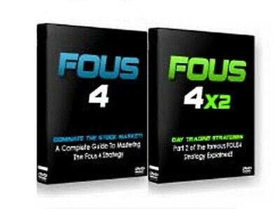 Fous 4  + Fous 4x2 - Swing Trade Core Strategy DVDs [Trading Stocks Forex]