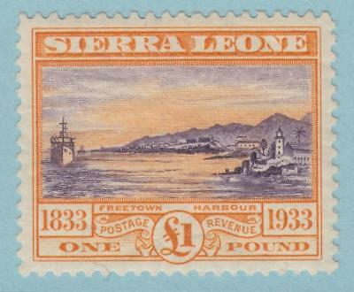 Sierra Leone 165 Sg 180 Mint Hinged Og * No Faults Extra Fine ! £650