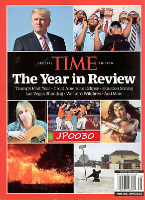 Time Special Edition 2017, The Year In Review, Brand New/Sealed