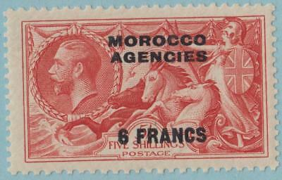 Great Britain Offices Abroad - Morocco 56 Mint Hinged Og * No Faults Excellent !