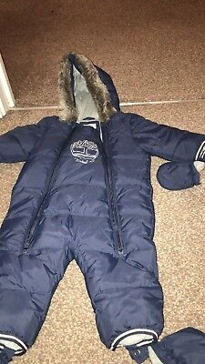 555c55f9d TIMBERLAND 12 MONTHS, Baby SnowSuit Bunting Suit One Piece, Kids ...