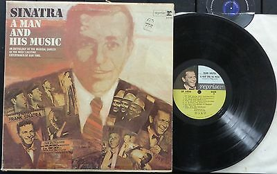 KLP127 - Frank Sinatra - A Man and his Music (2F 1016) US 2 LP, reprise 1977