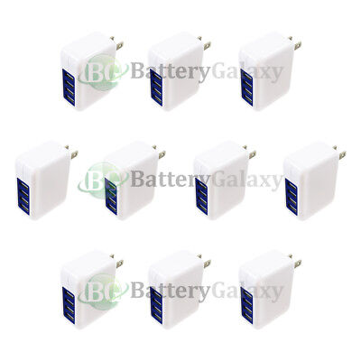 10X Fast 4 Port Wall Charger 3.1 Amp for Android Samsung Galaxy S8 /S8+ /S8 Plus