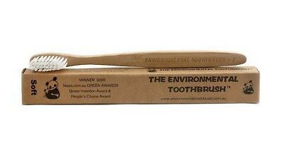 The Environmental Bamboo Toothbrush - Vegan, Ecological - For Adult or Child
