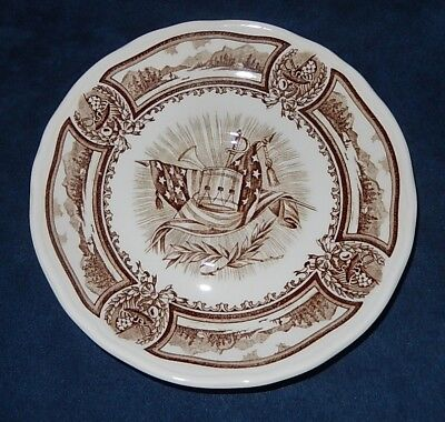 Vintage J & G Meakin ~ Americana Brown ~ Style House Ironstone ~ Saucer