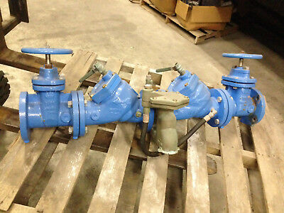 WATTS 3 inch RPZ BACKFLOW PREVENTER No. 909 175psi Used