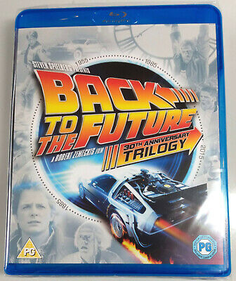 BACK TO THE FUTURE 30TH ANNIVERSARY TRILOGY New BLU-RAY Set Region-Free 4 Discs