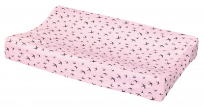 Stylish Cotton Pink Change Pad Cover Baby Shower Gifts Girl Boy Gender Neutral