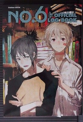 JAPAN No. 6 Number six Official Log Book nine-volume novel series