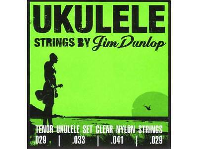 JIM DUNLOP PRO UKULELE TENOR STRINGS Warm Exceptional Clarity USA Made