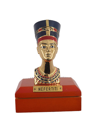 **Rare** Queen Nefertiti Bust Statue Replica, Fine Ancient Egyptian Statues