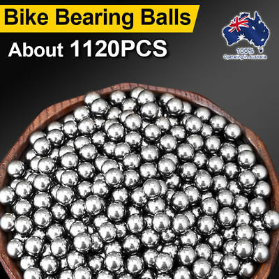 1120pcs  Replacement Parts 6mm Bike Bicycle Carbon Steel Loose Bearing Ball