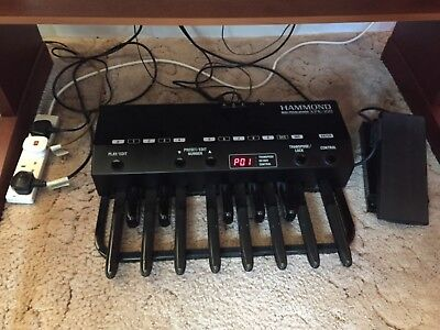 hammond xe2 organ including midi xpk 100 pedalboard picclick uk. Black Bedroom Furniture Sets. Home Design Ideas