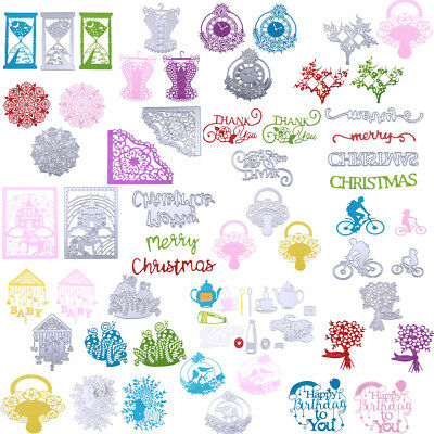 DIY Metal Cutting Dies Stencil Scrapbooking Embossing Christmas Handmade Gift