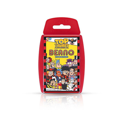 Top Trumps Beano Edition - Family Travel Card Game - Official Beano