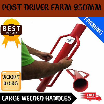Post Driver Farm Fence Rammer Star Picket Farming Agriculture  950 Mm