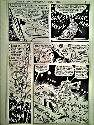 FRANK THORNE original art - House of Mystery - Bronze Age DC classic!