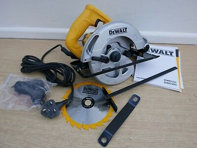 BRAND NEW DEWALT DWE550 1200W 165MM CIRCULAR SAW 240v