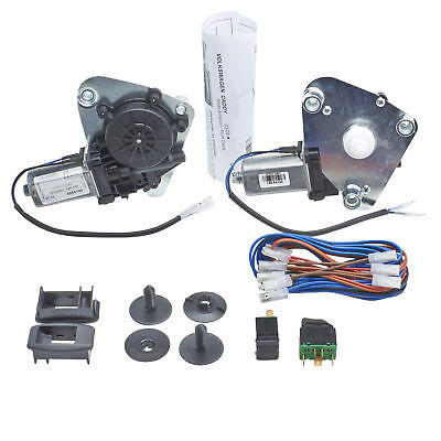 VW Caddy 03.04-On - Front Right Left Window Regulator Conversion Kit Electric