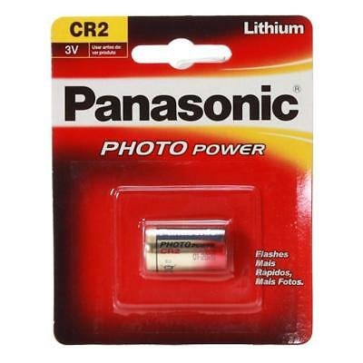 2x Pilas Panasonic CR2 3V LITIO CAMARA FOTO CR-2-1BP BATTERY