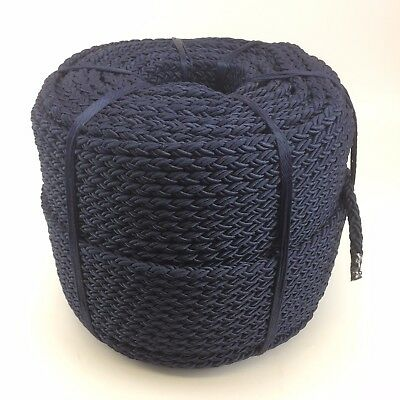 12mm 8 Support marine corde en nylon x 10MTS, ancre amarrage Câble multiplait