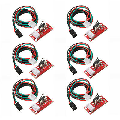 6pcs Endstop Limit Mechanical End Stop Switch W/ Cable for CNC 3D Printer R W1B7